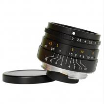 Obiectiv manual 7Artisans 35mm F2.0 negru pentru Leica M-mount