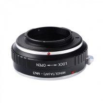 Kent Faith Minolta(AF)-M4/3 adaptor montura Minolta A / Sony A-Micro 4/3 (MFT)