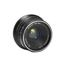 Obiectiv manual 7Artisans 25mm F1.8 negru pentru Sony E-mount