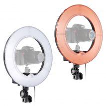 Lampa circulara RL-18 240LED-uri temperatura de culoare 5500k cu alimentator