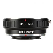 K&F Concept MD-M4/3 adaptor montura Minolta MD-Micro 4/3 (MFT)