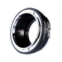 K&F Concept FD-FX adaptor montura Canon FD la Fuji X-Mount