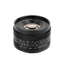 Obiectiv 7Artisans 50mm F1.8 APS-C pentru Micro 4/3