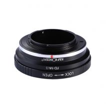 K&F Concept Canon FD-M4/3 adaptor montura Canon FD FL-Micro 4/3 (MFT)