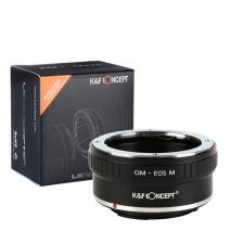 K&F Concept OM-EOS M  adaptor montura Olympus la Canon EOS M