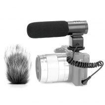 Microfon Meike MK-MP1 Shotgun pentru DSLR si camere video