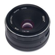 Obiectiv manual Meike 25mm F1.8 pentru Nikon 1