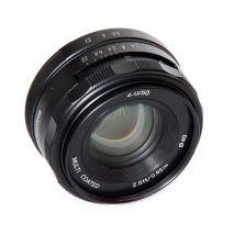 Obiectiv manual Meike 50mm F2.0 pentru Sony E-mount
