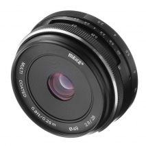 Obiectiv manual Meike 28mm F2.8 pentru Canon EF-M