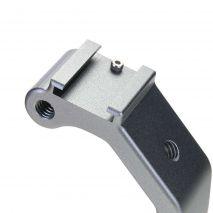 Suport stabilizator filmare pentru camere de actiune cu 2 adaptoare patina blitz GP601