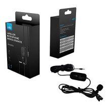 Microfon lavaliera L1 hands free pentru DSLR Smartphone