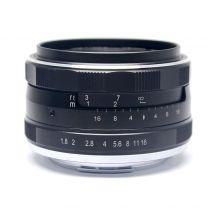 Obiectiv manual Meike 25mm F1.8 pentru Canon EF-M