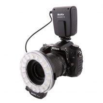 Meike MK-FC110 Blitz macro cu LED-uri si functie de lumina continua