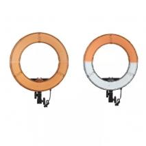 Lampa circulara RL-18PRO 240LED-uri temperatura de culoare 5500K cu alimentator