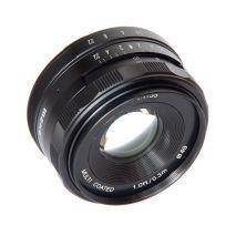 Obiectiv manual Meike 35mm F1.7 pentru Sony E-mount