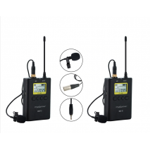 KIT Microfon Wireless WM10 pentru camere video