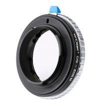 K&F Concept C/G-EOS M adaptor montura de la Contax G la Canon EOS M-Mount KF06.326