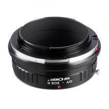 K&F Concept C/Y-EOS R adaptor montura de la Contax/Yashica la Canon EOS R KF06.380