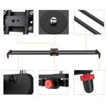 Slider K&F Concept din fibra de carbon 80cm pentru camere video si DSLR KF36.004