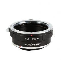 K&F Concept EOS-EOS M adaptor montura de la Canon EOS EF la Canon EOS M cu adaptor trepied KF06.262