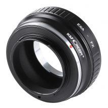 K&F Concept EXA-FX adaptor montura Exakta la Fujifilm FX-Mount KF06.334