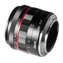 Obiectiv manual Meike 50mm F1.7 pentru Sony E-mount