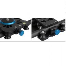 Slider SH8T din fibra de carbon 80cm pentru camere video si DSLR