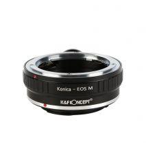 K&F Concept Konica-EOS M adaptor montura de la Konica AR la EOS M cu adaptor trepied KF06.269