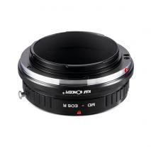 K&F Concept MD-EOS R adaptor montura de la Minolta MD MC la Canon EOS R-Mount KF06.377