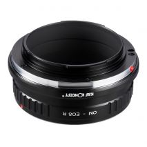 K&F Concept OM-EOS R  adaptor montura de la Olympus la Canon EOS R  KF06.385