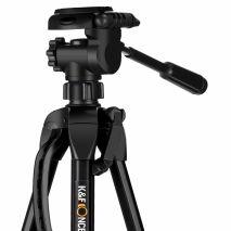 Trepied video K&F Concept TL2023 cu cap fluid panoramic  KF09.012