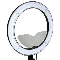 Kit Lampa circulara RL-18 240LED-uri temperatura reglabila 3200-5600k
