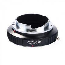 K&F Concept C/Y-L/M adaptor montura de la Contax Yashica la Leica M-Mount KF06.170