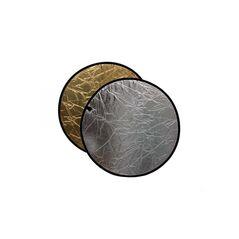 Blenda rotunda 2in1 gold-silver 110cm