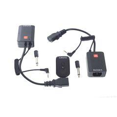 Kit trigger-2x receiver radio 4 canale Wansen AC-04 pentru declansare blitz de studio