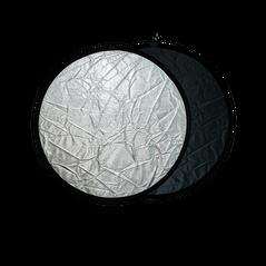 Blenda rotunda 2in1 silver-black 80cm