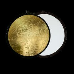 Blenda rotunda 2in1 white-gold 110cm
