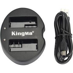 Incarcator KingMa USB dual NP-FW50 pentru Sony