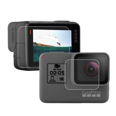 Ecran protector pentru LCD si lentila compatibil GoPro Hero 5 Black  GoPro Hero 6 Black GoPro Hero 7 GP350B