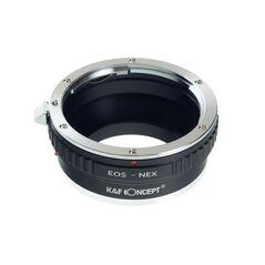 K&F Concept EOS-NEX adaptor montura Canon EOS la Sony E-Mount (NEX)