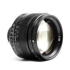 Obiectiv 7Artisans 50mm F1.1 negru pentru Leica M-mount