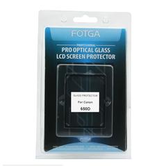 Ecran protector LCD Fotga 650D din sticla optica pentru Canon EOS 650D, Canon EOS Rebel T4i