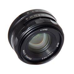 Obiectiv manual Meike 50mm F2.0 pentru FujiFilm FX-mount