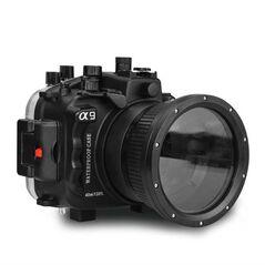 Carcasa subacvatica waterproof SeaFrogs pentru Sony A9 cu obiectiv 28-70mm