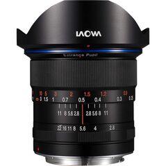 Obiectiv Manual Venus Optics Laowa Zero-D 12mm f/2.8 Negru pentru Pentax K-mount