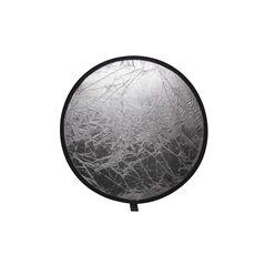 Blenda rotunda 2in1 white-silver 80cm