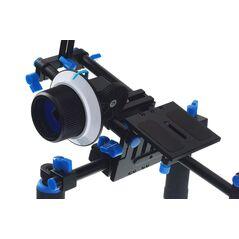 Commlite CS-K2 suport filmare cu sine 15mm pentru DSLR cu follow-focus Comstar CS-F1 si matte-box Commlite M1