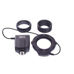 Meike MK-FC100 Blitz macro cu LED-uri si functie de lumina continua