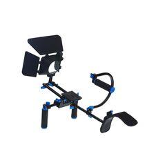 Commlite CS-K2 suport filmare cu sine 15mm pentru DSLR cu matte-box Commlite M1