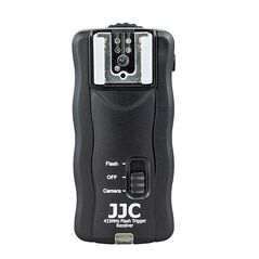 JJC JF-U2 Kit trigger-2x receiver wireless 16 canale pentru bltizuri speedlite